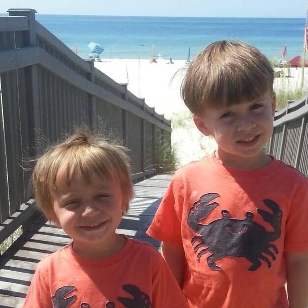 Grayson and his big brother Gareth