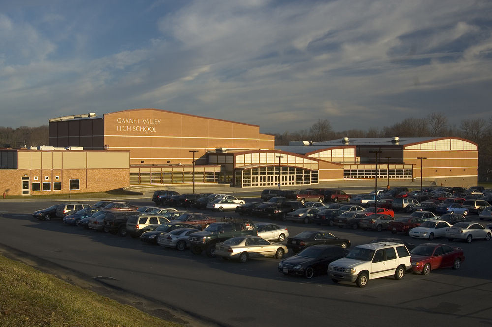 k-12 - GVSD - Garnet Valley HS - 2007 - facade edit.jpg