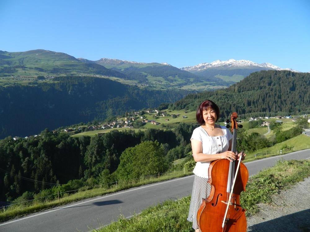 Andiast, Switzerland, June, 2014