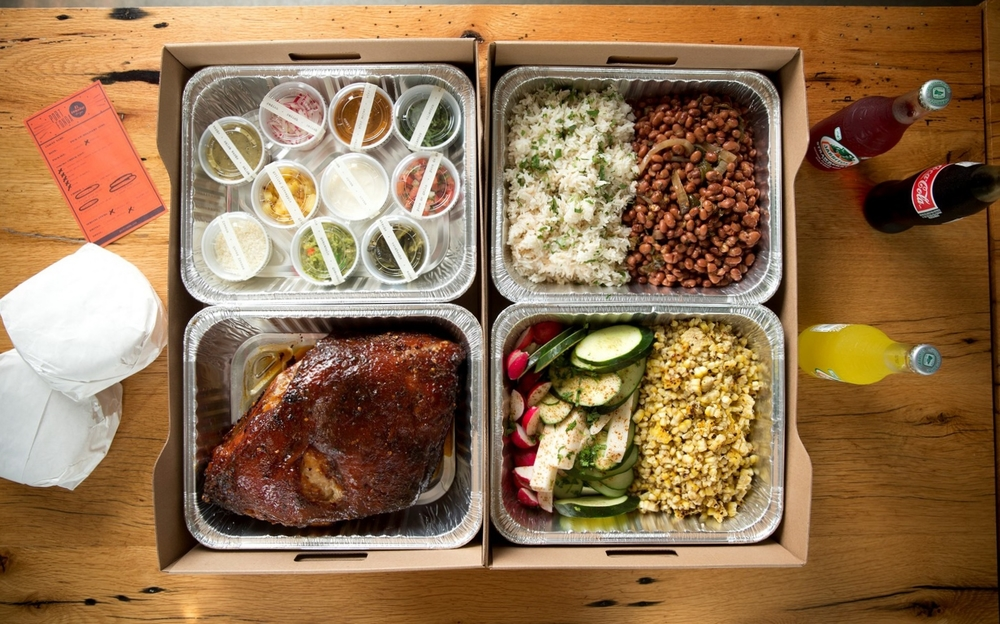 Order the dish that started it all - the El Comedor pork butt to-go or in house!