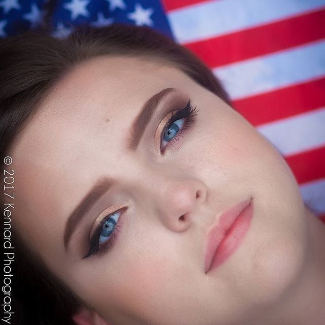 About yesterday. #4thofjuly and @its_leah_yallll  If you all knew what we had to do to get this shot..😂😂😂 #kennardphotos #bebold #daretobebold #seniorpictures #wythevillephotographer #teen #merica #pretty #flag