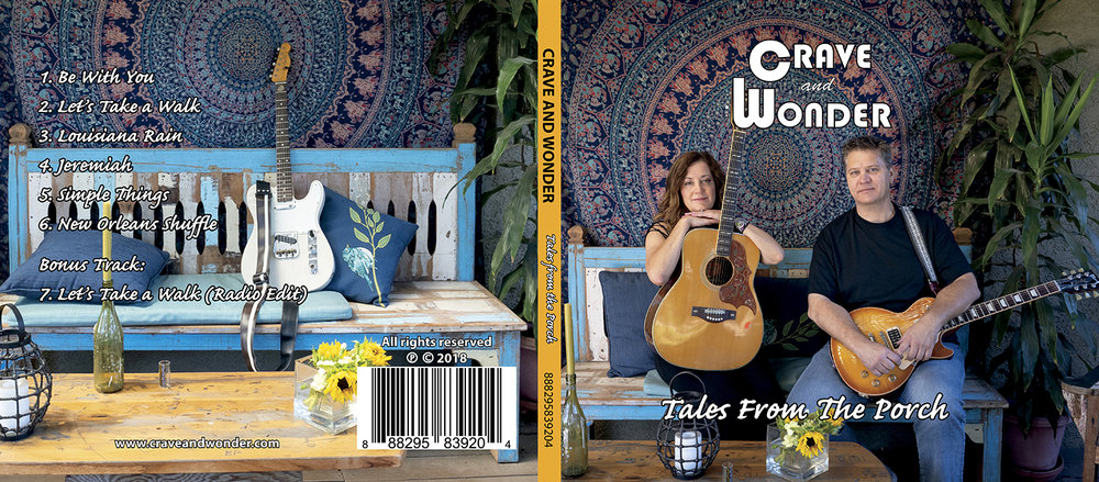 Crave and Wonder Tales From The Porch outside cover