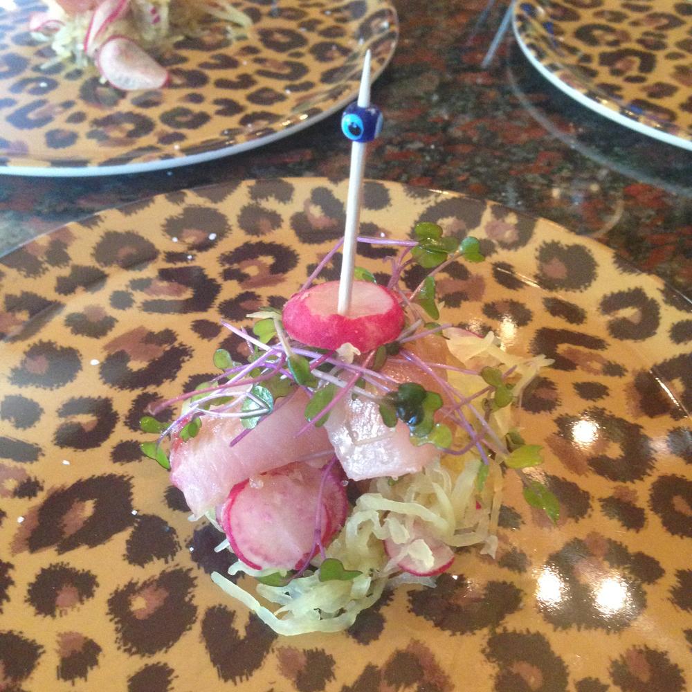 Medicated Hamachi Crudo Salad