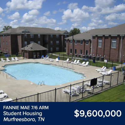 Fannie Mae Student Housing Murfreesboro, TN