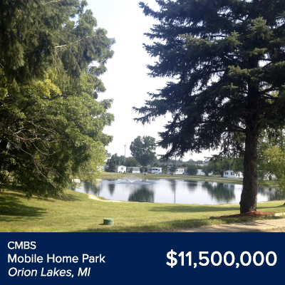 CMBS Mobile Home Park Orion Lakes, MI