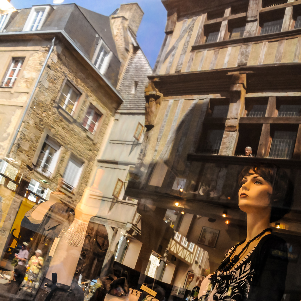 Brittany Scene (Dinan, France)