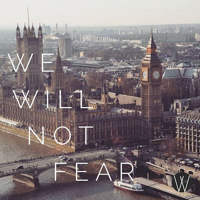 In light of last night's attack we want to make a choice that fear will not rule our hearts and minds. In times like these we choose to overcome evil with good and ever increase in faith, hope and love.  We're praying for anyone affected by last night's horrific attacks and for the families of those who passed.  Let us take what was set to divide us and only let it make us stronger. 💕#PrayForLondon