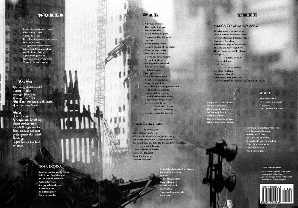 © Dave Steel, Poetry Broadside:  World War Thee