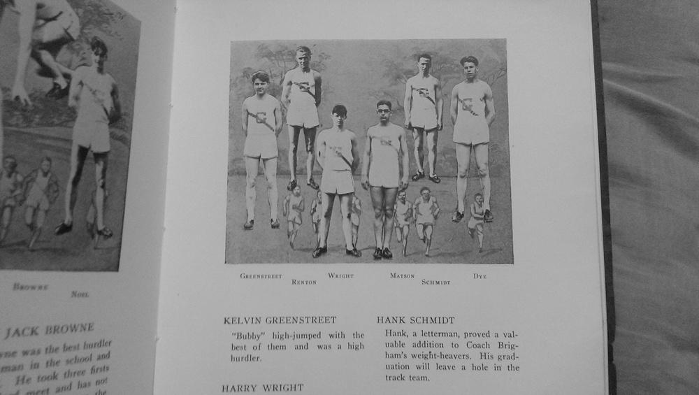 1927 track team image