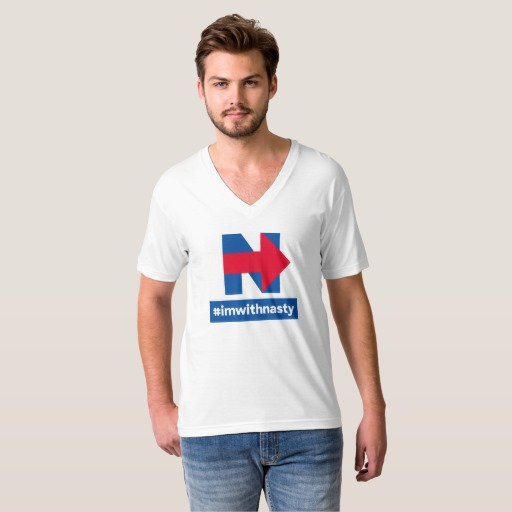 American Apparel V-neck T-shirt (M)