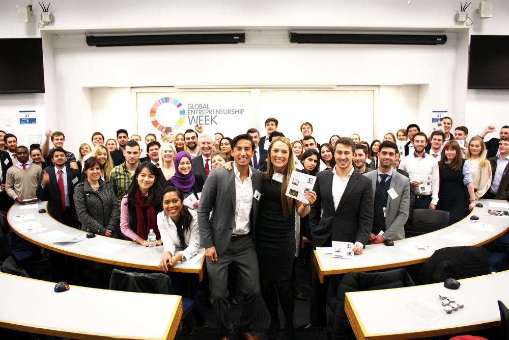 Students from MountBatten Institute at Columbia University Business School - GEW 2014