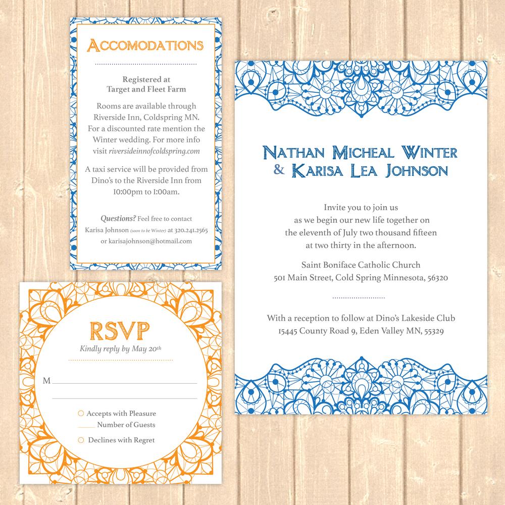 wedding stationery design mn