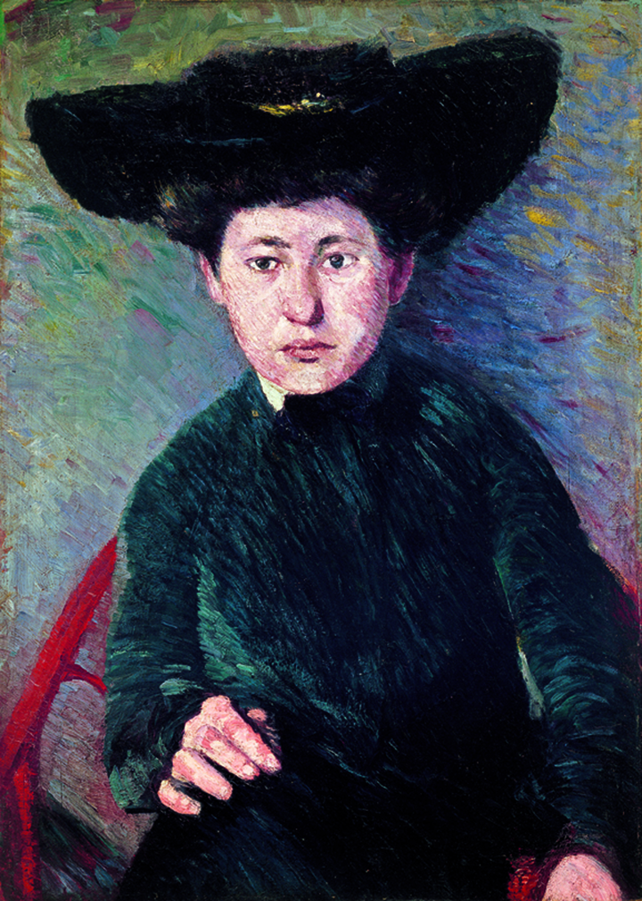 "Miz Hofmann, Portrait  [1901] Oil on board 27 1/2 x 19 5/8 in. (69.9 x 49.8 cm)   Städtische Galerie im Lenbachhaus und Kunstbau München, Munich. Gift of the Renate, Hans and Maria Hofmann Trust (G18054)   Photography courtesy of Städtische Galerie im Lenbachhaus und Kunstbau München, Munich        Normal   0             false   false   false     EN-US   X-NONE   X-NONE                                                                                                                                                                                                                                                                                                                                                                           /* Style Definitions */  table.MsoNormalTable 	{mso-style-name:""Table Normal""; 	mso-tstyle-rowband-size:0; 	mso-tstyle-colband-size:0; 	mso-style-noshow:yes; 	mso-style-priority:99; 	mso-style-parent:""""; 	mso-padding-alt:0in 5.4pt 0in 5.4pt; 	mso-para-margin:0in; 	mso-para-margin-bottom:.0001pt; 	mso-pagination:widow-orphan; 	font-size:11.0pt; 	font-family:""Calibri"",""sans-serif""; 	mso-ascii-font-family:Calibri; 	mso-ascii-theme-font:minor-latin; 	mso-hansi-font-family:Calibri; 	mso-hansi-theme-font:minor-latin;}"