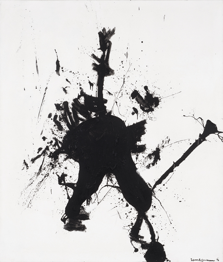Don Quixote, 1963 Oil on canvas 84 x 72 in. (213.4 x 182.9 cm) Private collection Photography courtesy of Kim Keever