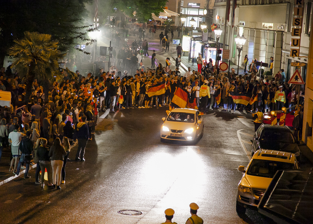 Baden-Baden, Germany after the World Cup win