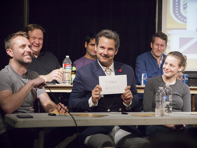 UCB Franklin | Match Game | 07.28.15   … with panelists Andy Richter, Kumail Nanjiani, Scott Aukerman, Chris Hardwick, Paul F. Tompkins, and Gillian Jacobs.