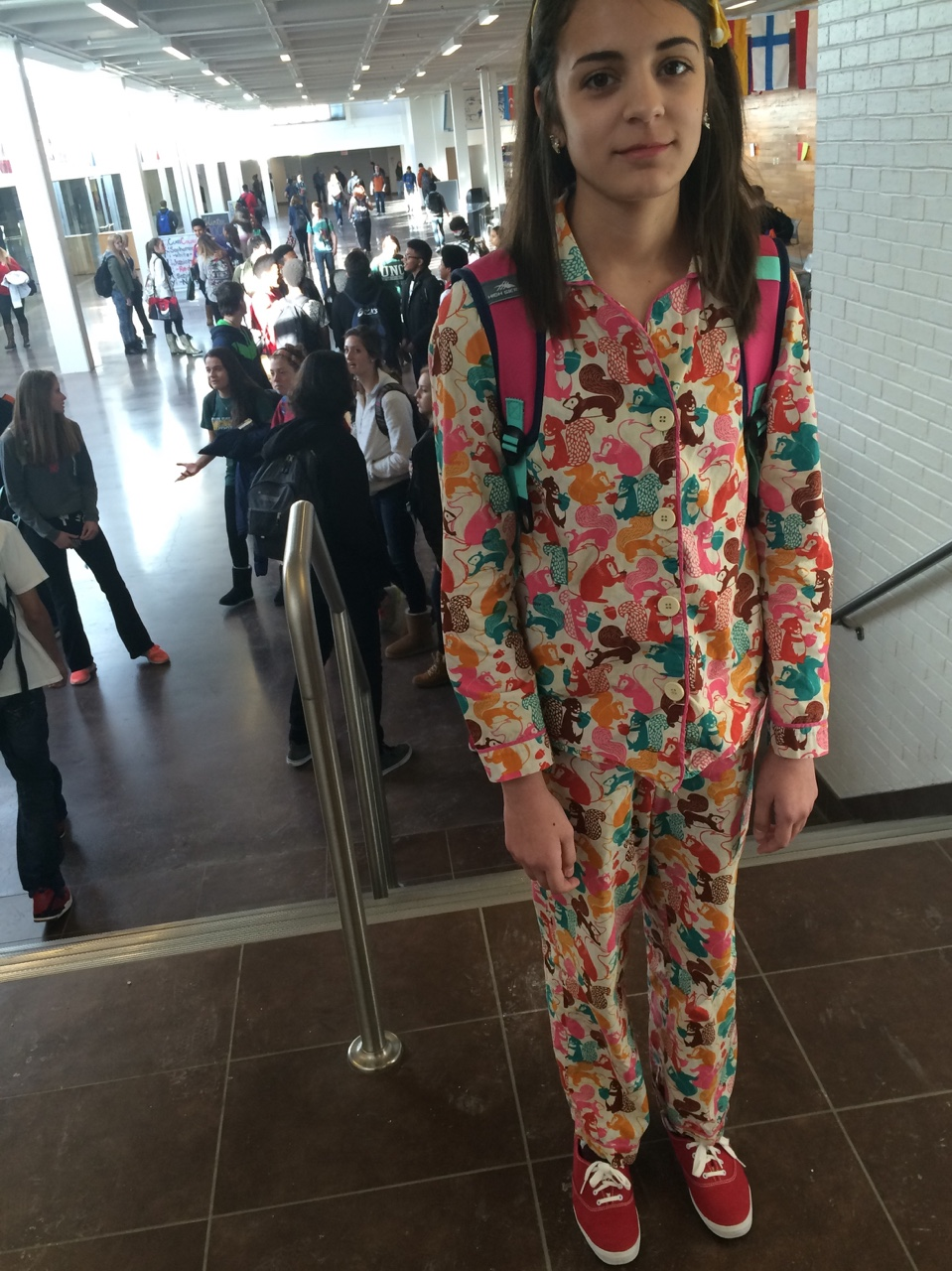 When it's pajama day and no one participates except you. (via  drinkingmaplelattes )