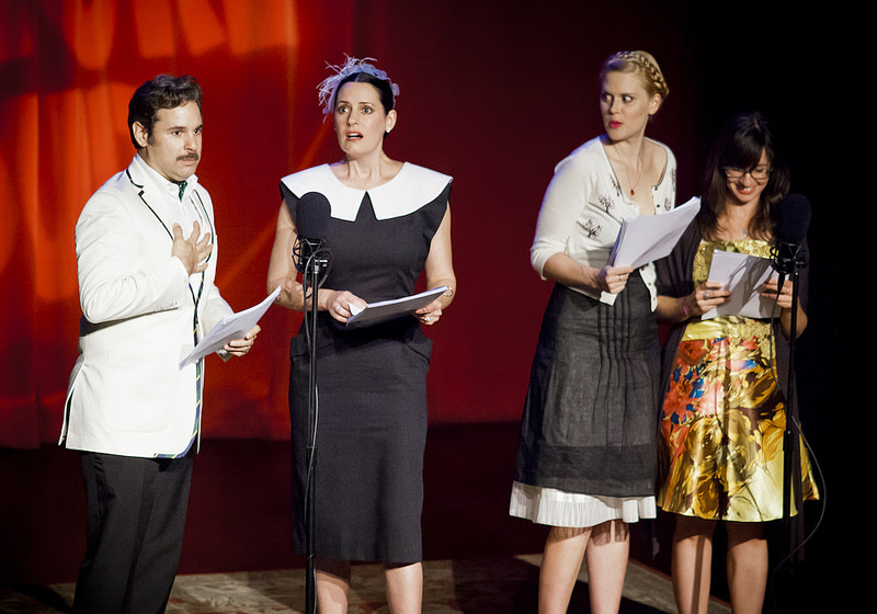 Thrilling Adventure Hour | 05.03.14   Paul F. Tompkins, Paget Brewster, Janet Varney and Katie Crown!