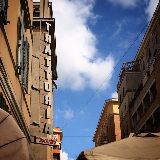 A Bucatino Business. #roma
