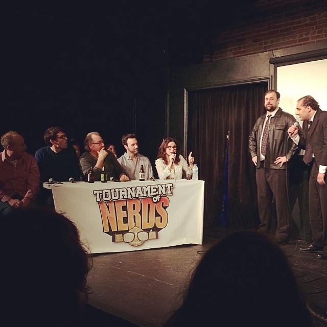 Tournament of Nerds @ucbtla with the cast of Veep. #veepfinale