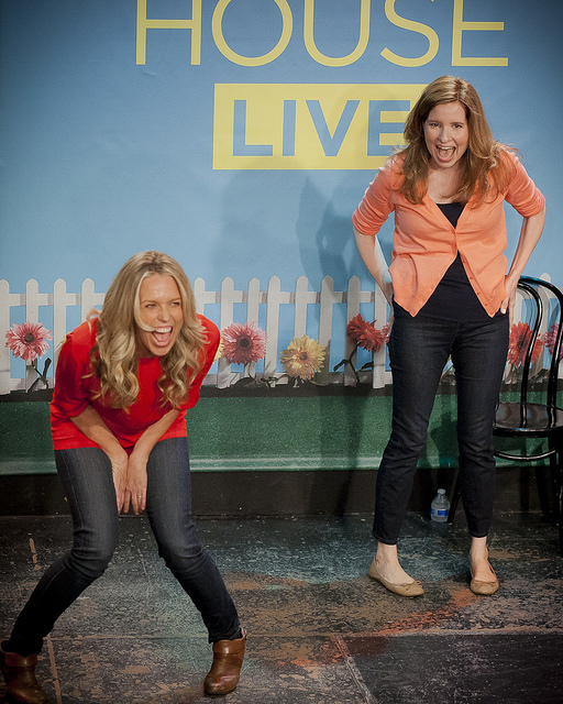 UCB-LA | Playing House: Live | 04.26.14 Jessica St. Clair & Lennon Parham