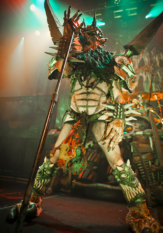 GWAR | House of Blues Hollywood | 10.18.13     Dave Brockie, lead singer of Gwar found dead.   I feel fortunate to have experienced the madness of a live show and their fans. RIP.