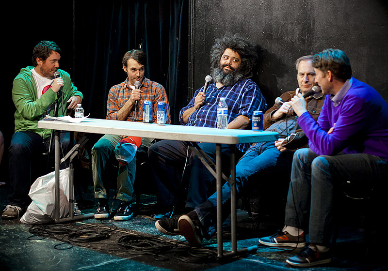 UCB-LA | Doug Loves Movies | 12.10.13   Will Forte, Chris Cubas, Bob Odenkirk and Scott Aukerman from last month's DLM.