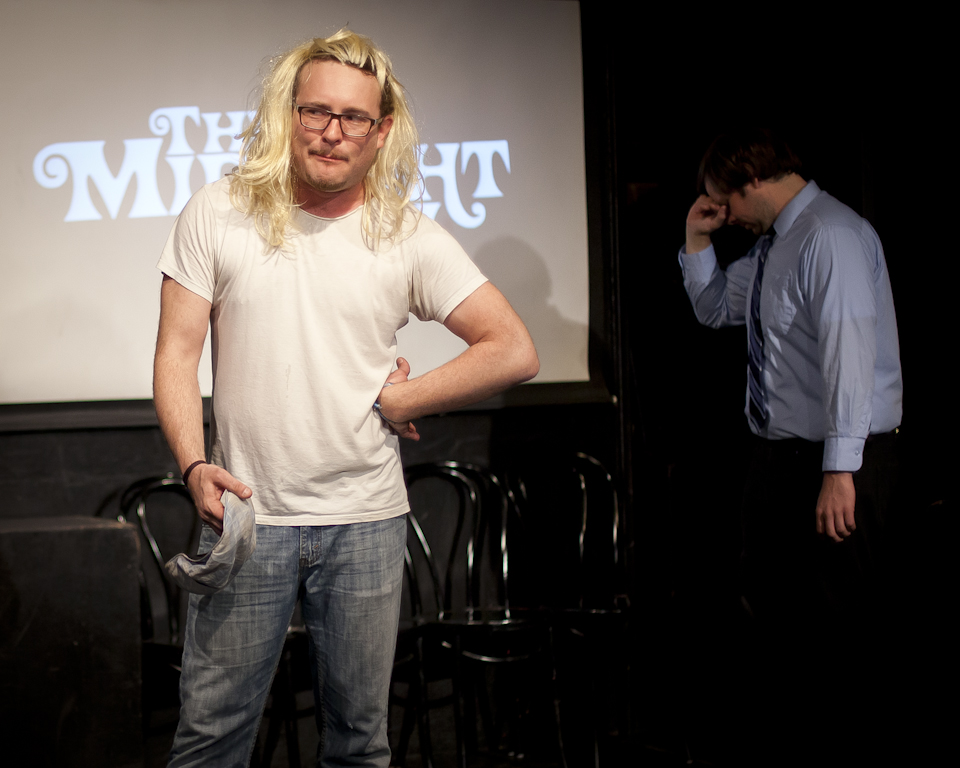 UCB-LA | The Midnight Show | 11.02.13 Midnight Show alumnus James Adomian forgets what sketch is.