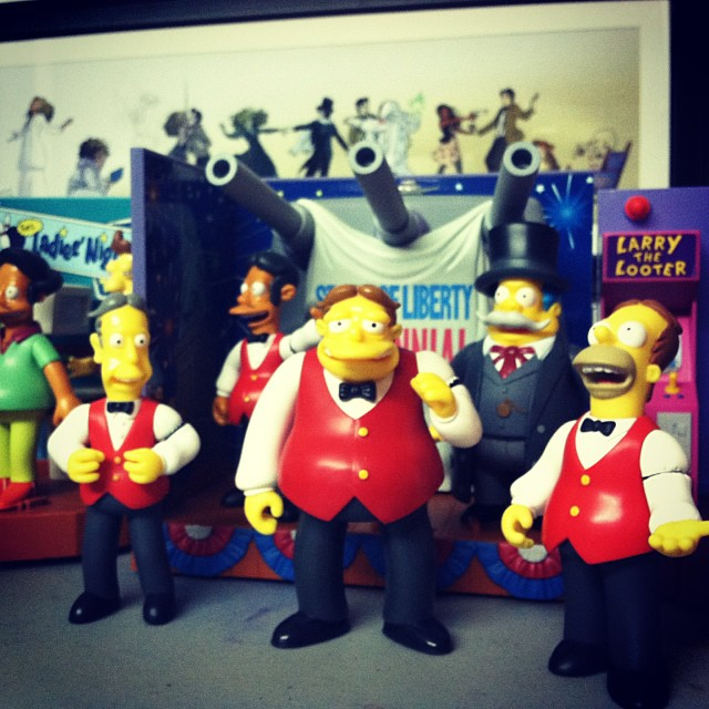 @jpspaulding is selling his simpsons collection at Nerdmelt this afternoon! #simpsons