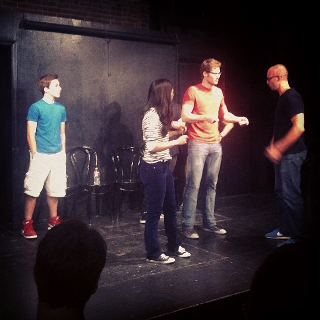 Today I graduated Improv 101. Now let us never speak of this again.