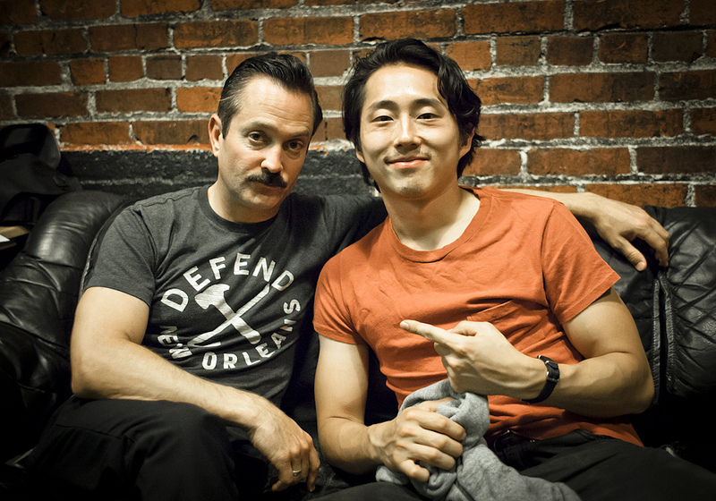 UCB-LA | Doug Loves Movies | 07.23.13 Thomas Lennon and Steven Yeun, after chatting about how big of a fan he is of Reno 911.