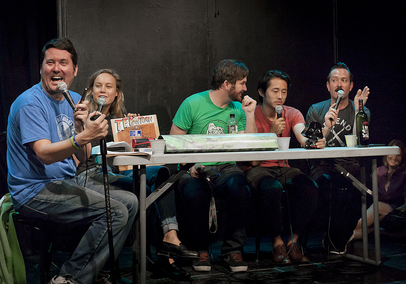UCB-LA | Doug Loves Movies | 07.23.13   Doug with guests Brie Larson, James Ponsoldt, Steven Yeun, and Thomas Lennon
