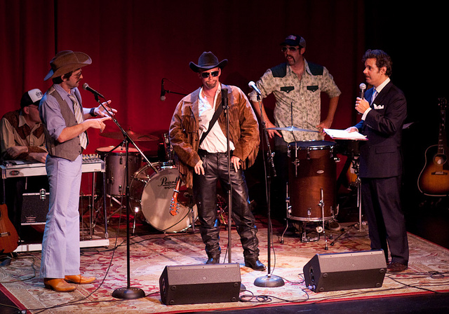 Largo | Paul F. Tompkins Show | 05.30.10     Three years ago, I encountered Superego for the first time, but they were performing as Journeymen. I didn't know who they were. I thought they were just some country band that played at Largo.  Then I realized they were singing a song about fuckin' and I've been a fan of these guys ever since.    They have a complete album of very NSFW songs now, and you can buy/listen to it  here !