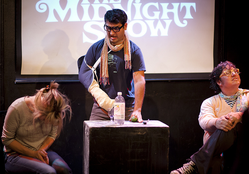 UCB-LA | The Midnight Show | 06.01.13   Kumail Nanjiani as some kind of hipster mixologist.