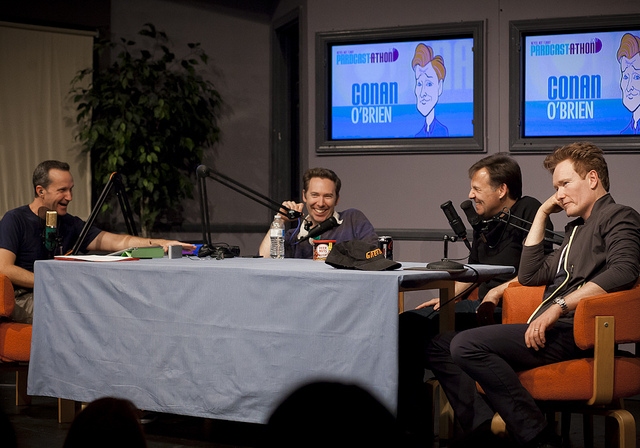 Never Not Funny | Pardcast-a-thon | 11.23.12 Jimmy Pardo, Matt Belknap, Pat Francis with guest, Conan O'Brien.