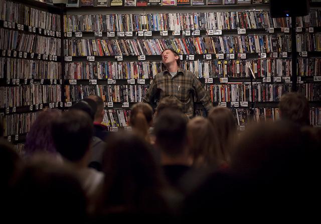 Comedy at Cinefile | 02.28.13   Johnny Pemberton dances to Black Velvet.