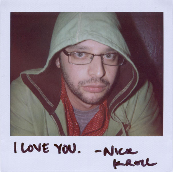 portroids :     KROLL SHOW!   Just a reminder. Kroll Show is on Comedy Central tonight at 10:30PM. Watch it. You're allowed.