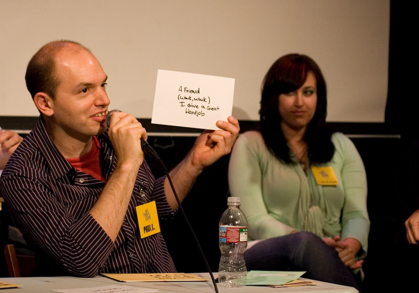 UCB-LA | Match Game | 06.06.08  From the archives… Paul Scheer.
