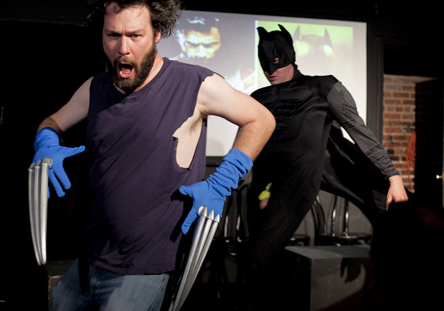 UCB-LA | Midnight Show | 07.07.12 Batman vs Wolverine