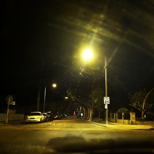 4am. Finally going home. (Taken with instagram)
