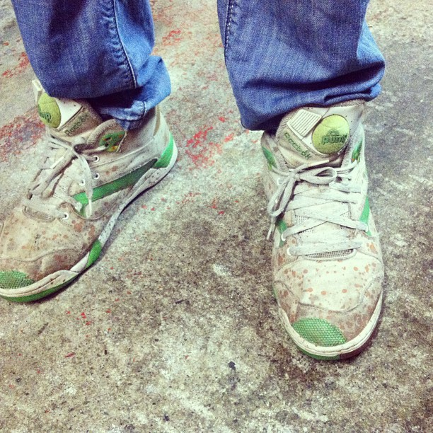Eric Andre shoes. (Taken with instagram)