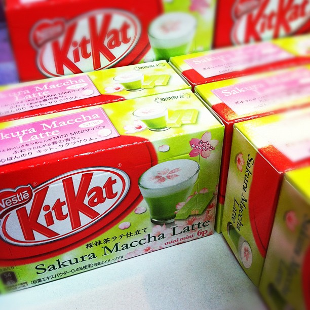 Weird Kit Kats at Nijiya in West LA.