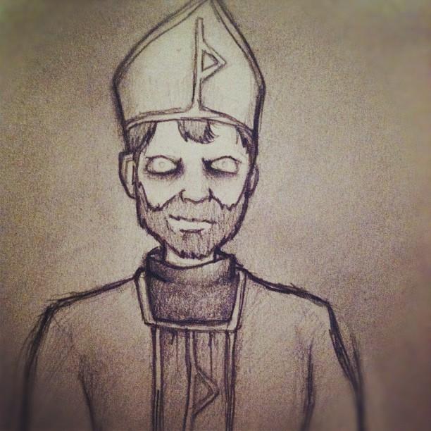 priest guy. (Taken with instagram)