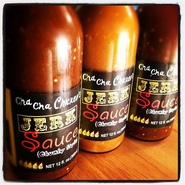 I'm Jay's transporter of jerk chicken sauce.  (Taken with  instagram )