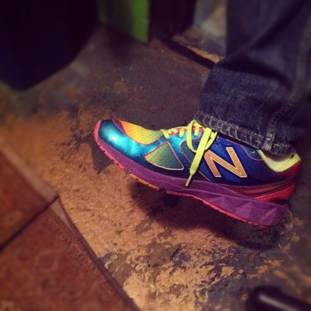 Behold @MattBesser's shoes. (Taken with  instagram )