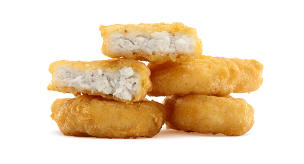 Woman Offered Sexual Favors In Exchange For Chicken McNuggets        Police have some major dirt on one particular Los Angeles woman, and it involves prostitution and Chicken McNuggets. According to a customer's report to police, a lady by the name of Khadijah Baseer was seen opening customers' car doors in a McDonald's drive-through last Wednesday night.Apparently, the LA woman was soliciting sexual favors in exchange for free Chicken McNuggets. She was later arrested on suspicion of prostitution. (via  foodbeast )