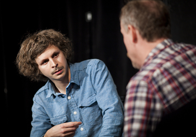 UCB-LA | Gravid Water | 01.08.12  Look for Michael Cera and his fluffy mop of hair on tonight's Critics Choice Awards.