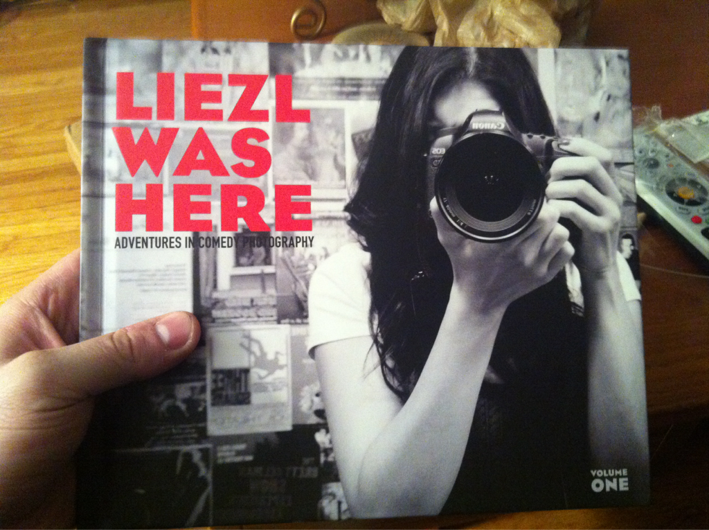 Someone bought it for reals?! THANKS ADAM!!@!#$ adamchazen: Look what came in the mail today! Congrats Liezl, fantastic job!!