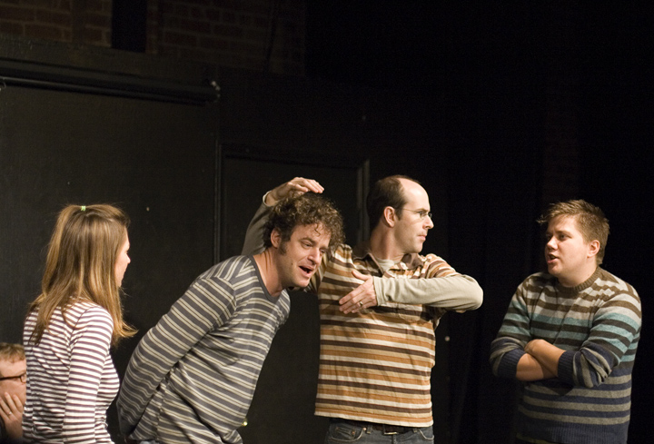 UCB-LA | ASSSSCAT | 12.09.07 One of the first UCB shows I went to… Also, look at all them stripes.