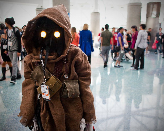 Anime Expo | Los Angeles | 07.02.11    I am currently in anime expo photo editing hell. I just want to eat bbq.   In any case, here is a jawa.